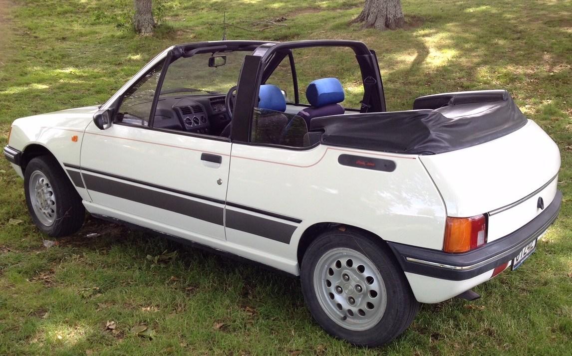 Peugeot 205 1983 - 1998 Cabriolet #3