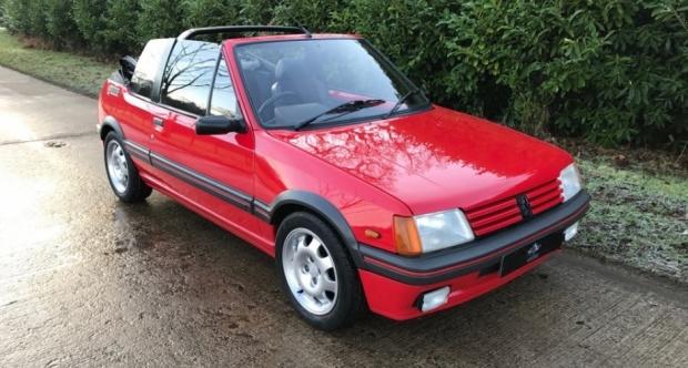 Peugeot 205 1983 - 1998 Cabriolet #2