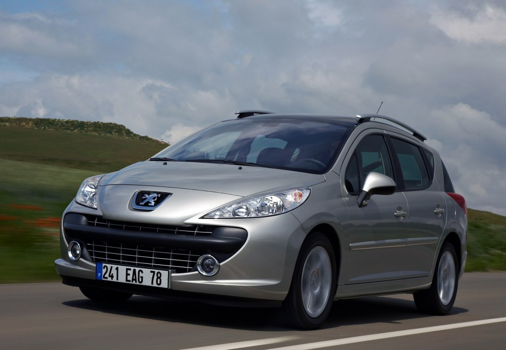Peugeot 207 I Restyling 2009 - 2015 Station wagon 5 door #3