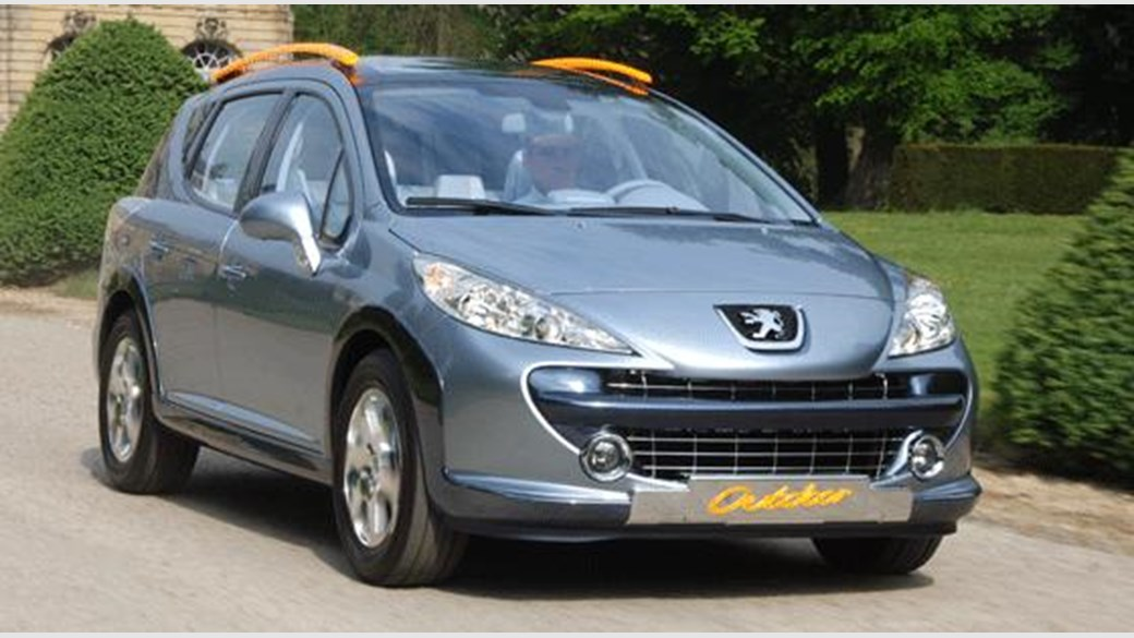 Peugeot 207 I Restyling 2009 - 2015 Station wagon 5 door #1