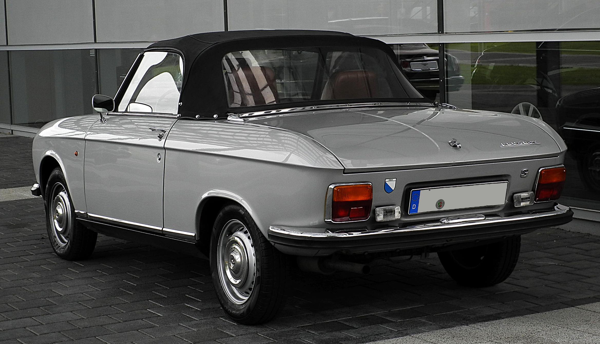Peugeot 304 1969 - 1980 Cabriolet #1