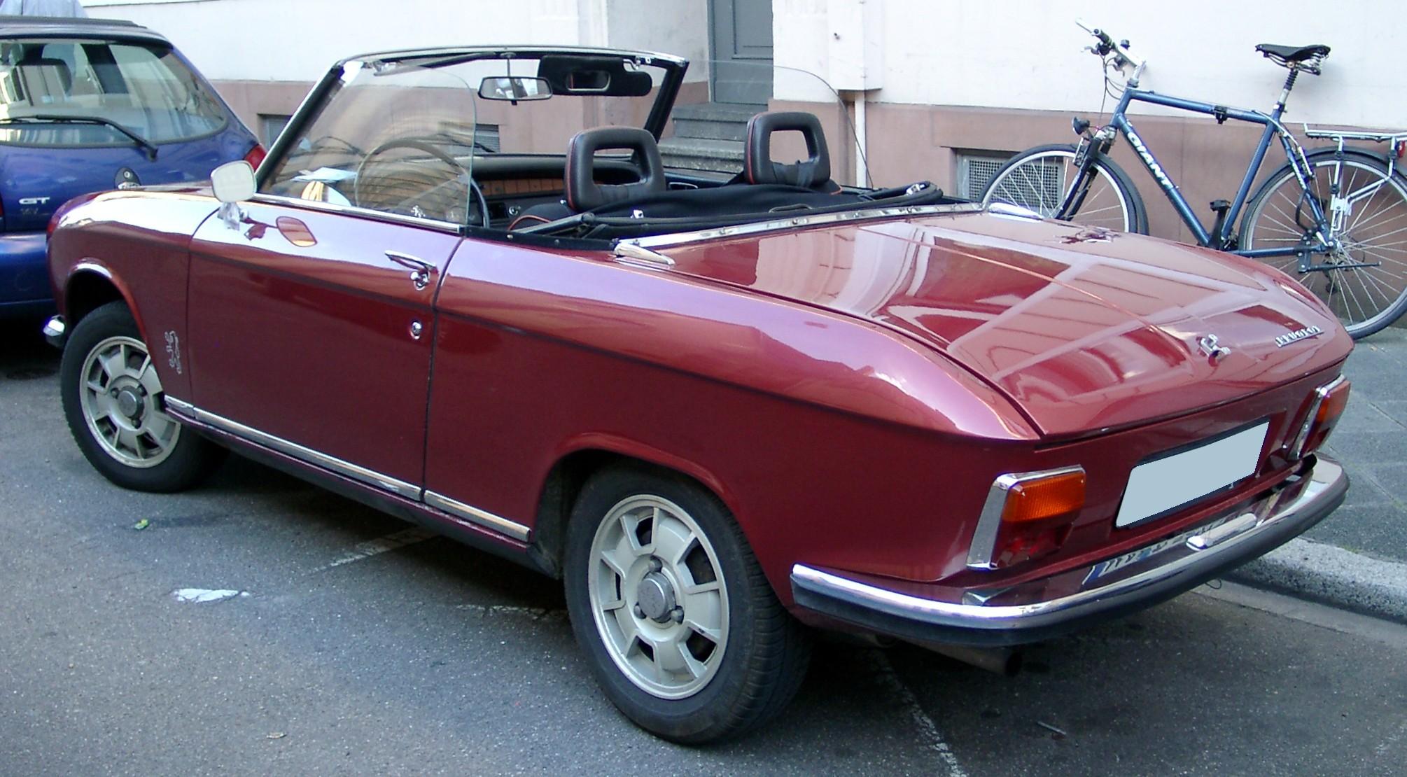 Peugeot 304 1969 - 1980 Cabriolet #5