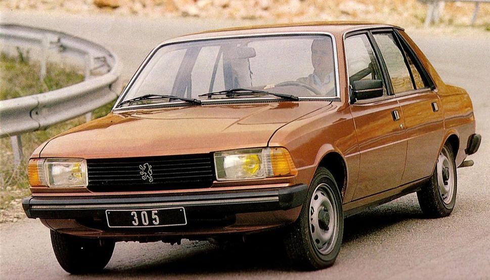 Peugeot 305 1977 - 1990 Sedan #4