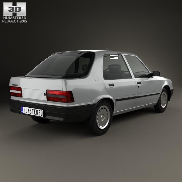 Peugeot 309 I 1985 - 1989 Hatchback 3 door #2
