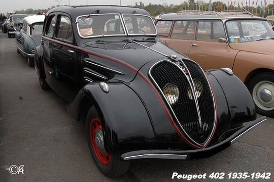 Peugeot 402 1935 - 1942 Sedan #6
