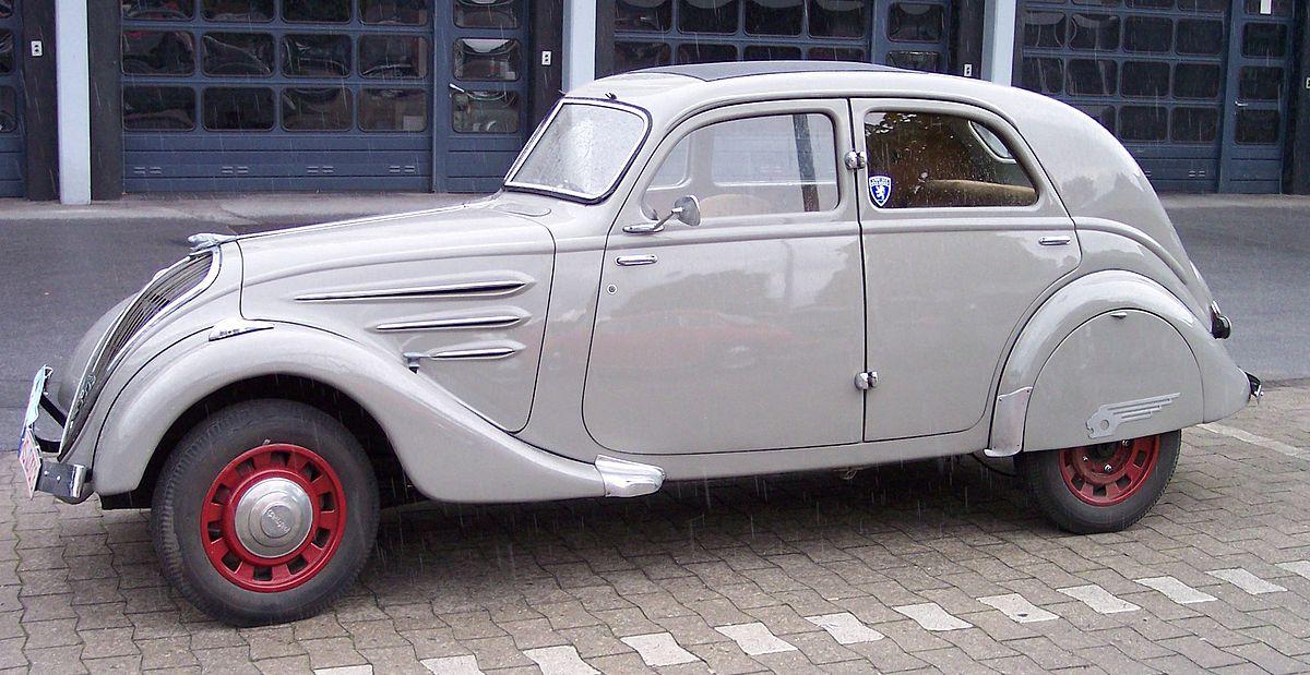 Peugeot 402 1935 - 1942 Sedan #7