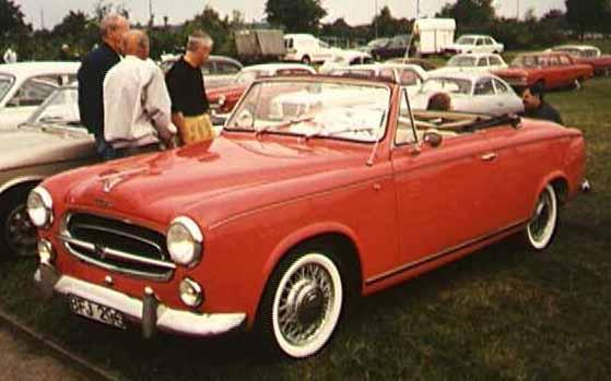 Peugeot 403 1955 - 1966 Cabriolet #6