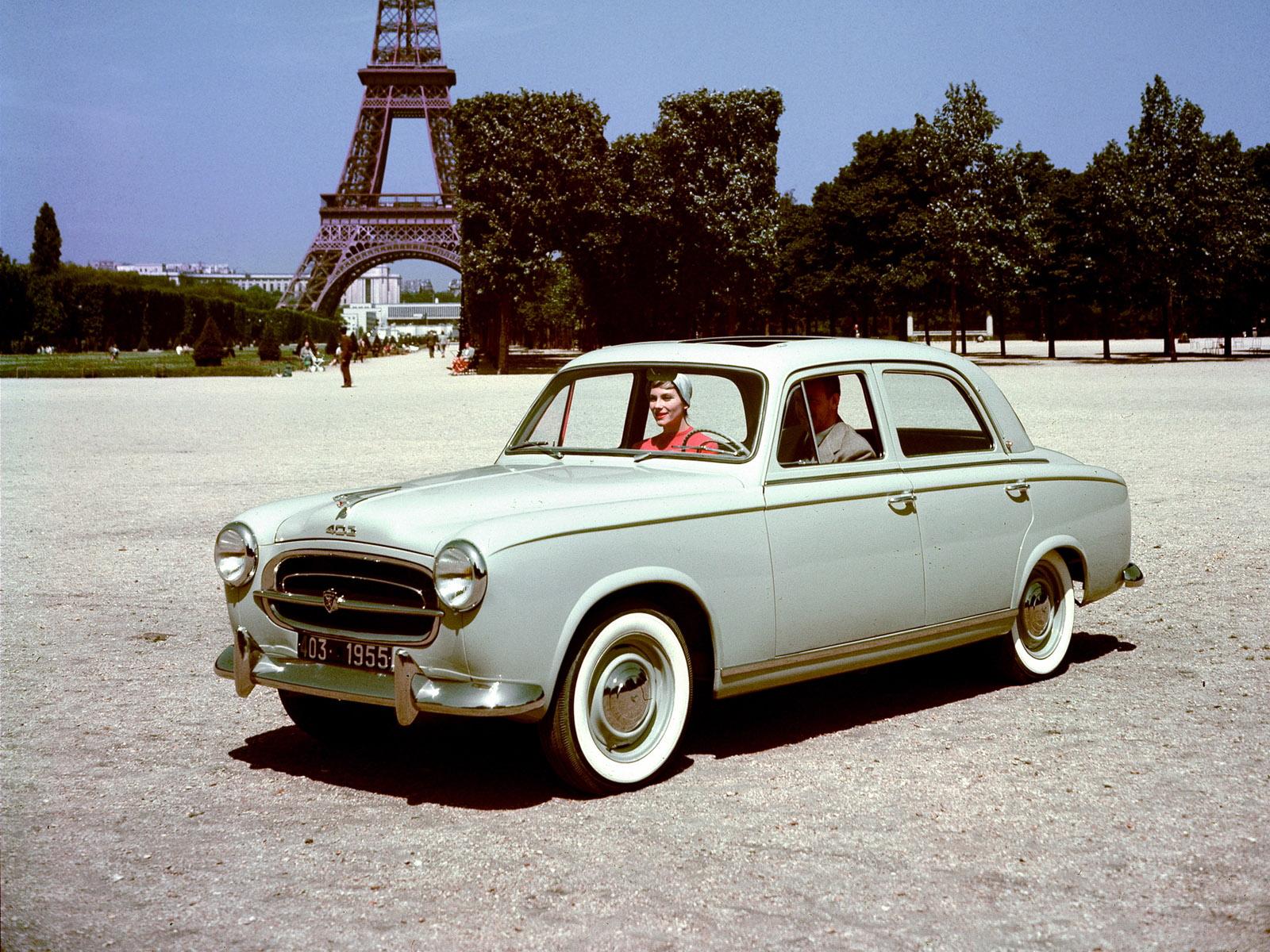 Peugeot 403 1955 - 1966 Cabriolet #4
