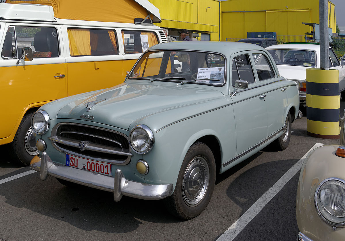 Peugeot 403 1955 - 1966 Station wagon 5 door #8