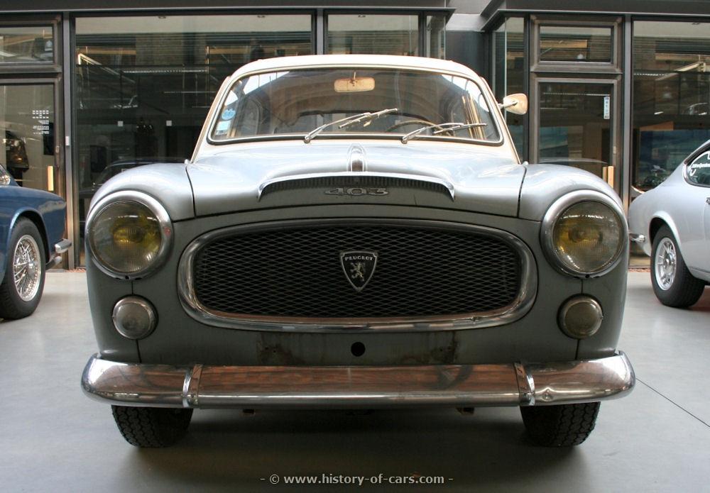 Peugeot 403 1955 - 1966 Sedan #2