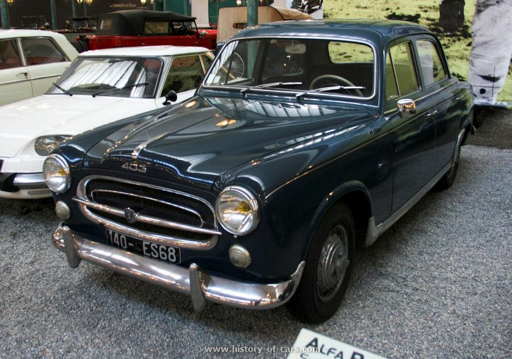 Peugeot 403 1955 - 1966 Sedan #1