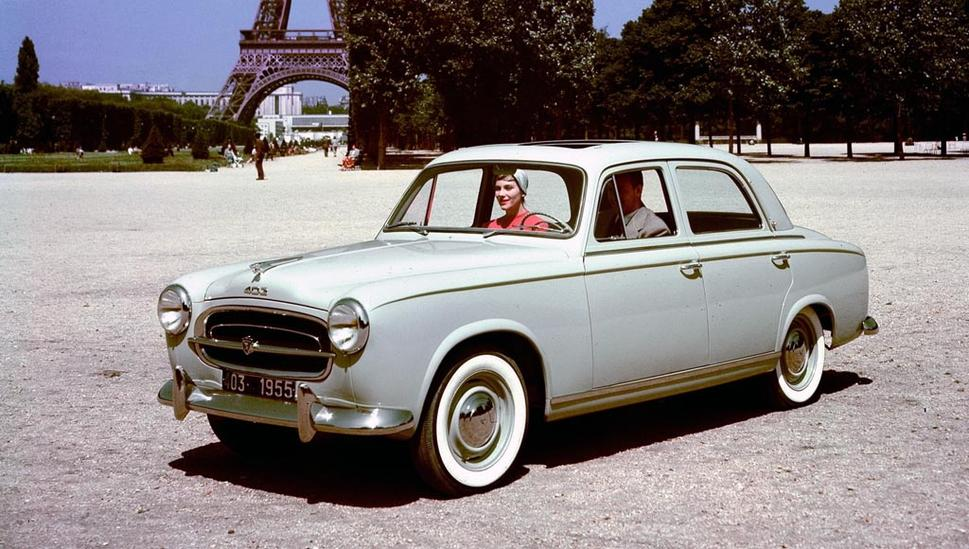 Peugeot 403 1955 - 1966 Station wagon 5 door #4