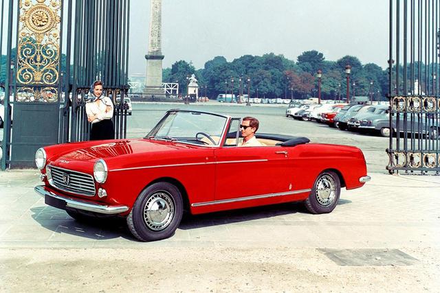 Peugeot 404 1960 - 1975 Cabriolet #6