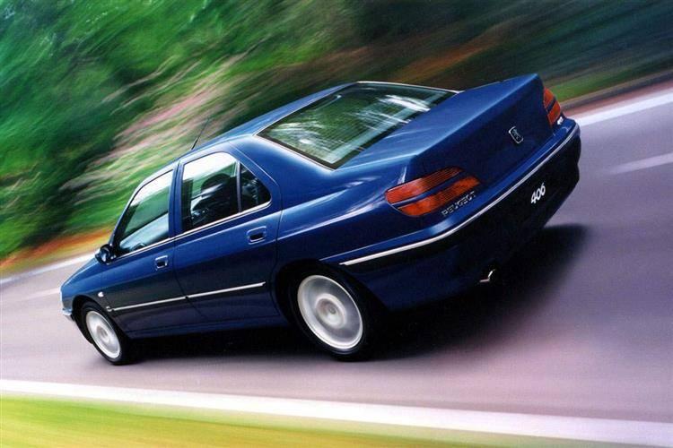 Peugeot 406 1999 - 2005 Sedan #3