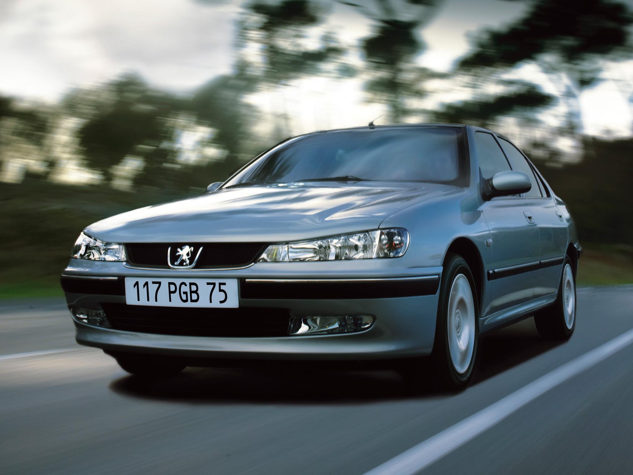 Peugeot 406 1999 - 2005 Sedan #2