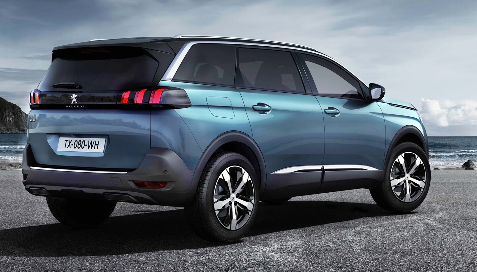 Peugeot 5008 II 2017 - now SUV 5 door #8