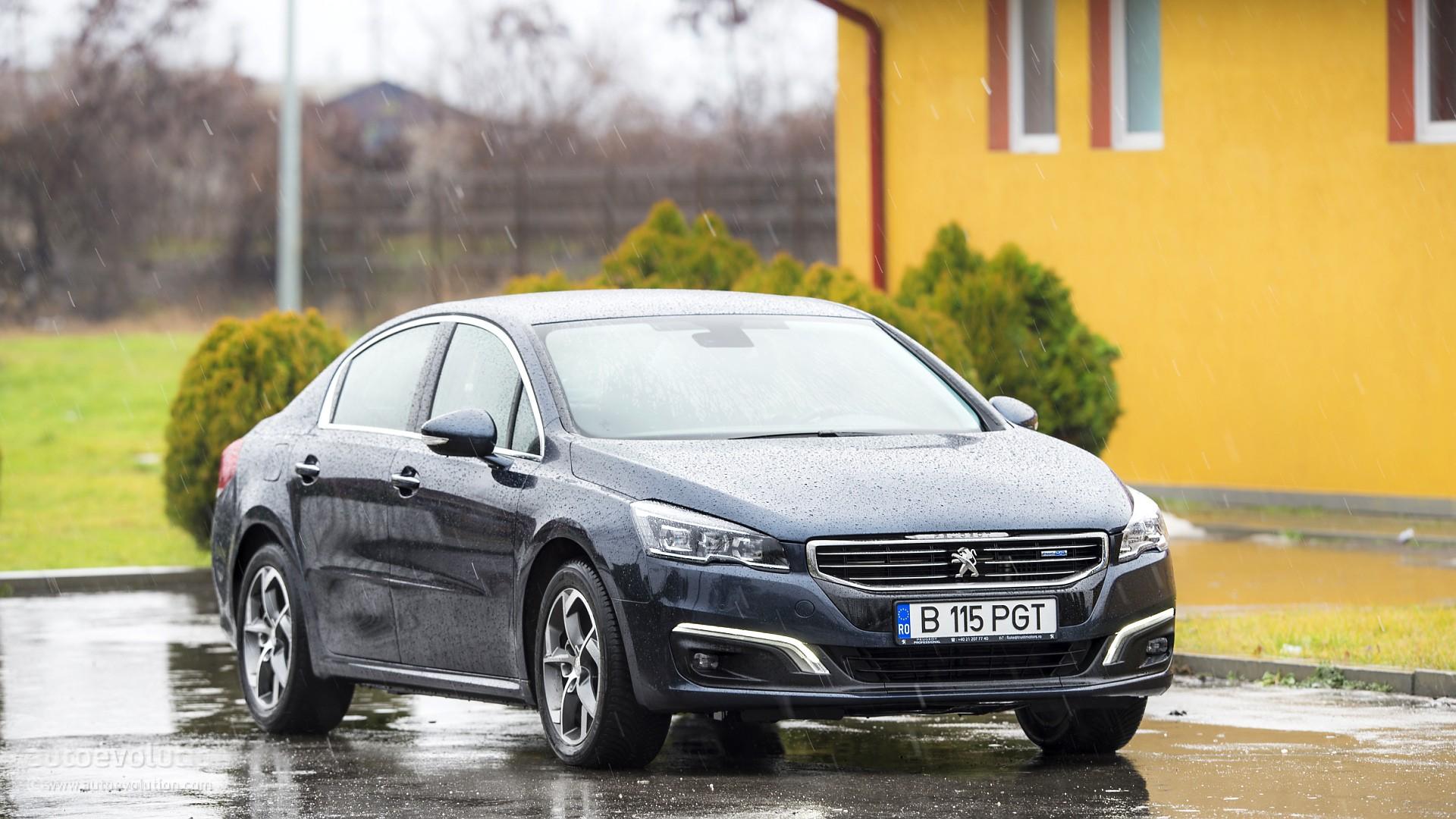 Peugeot 508 I Restyling 2014 - now Sedan #4
