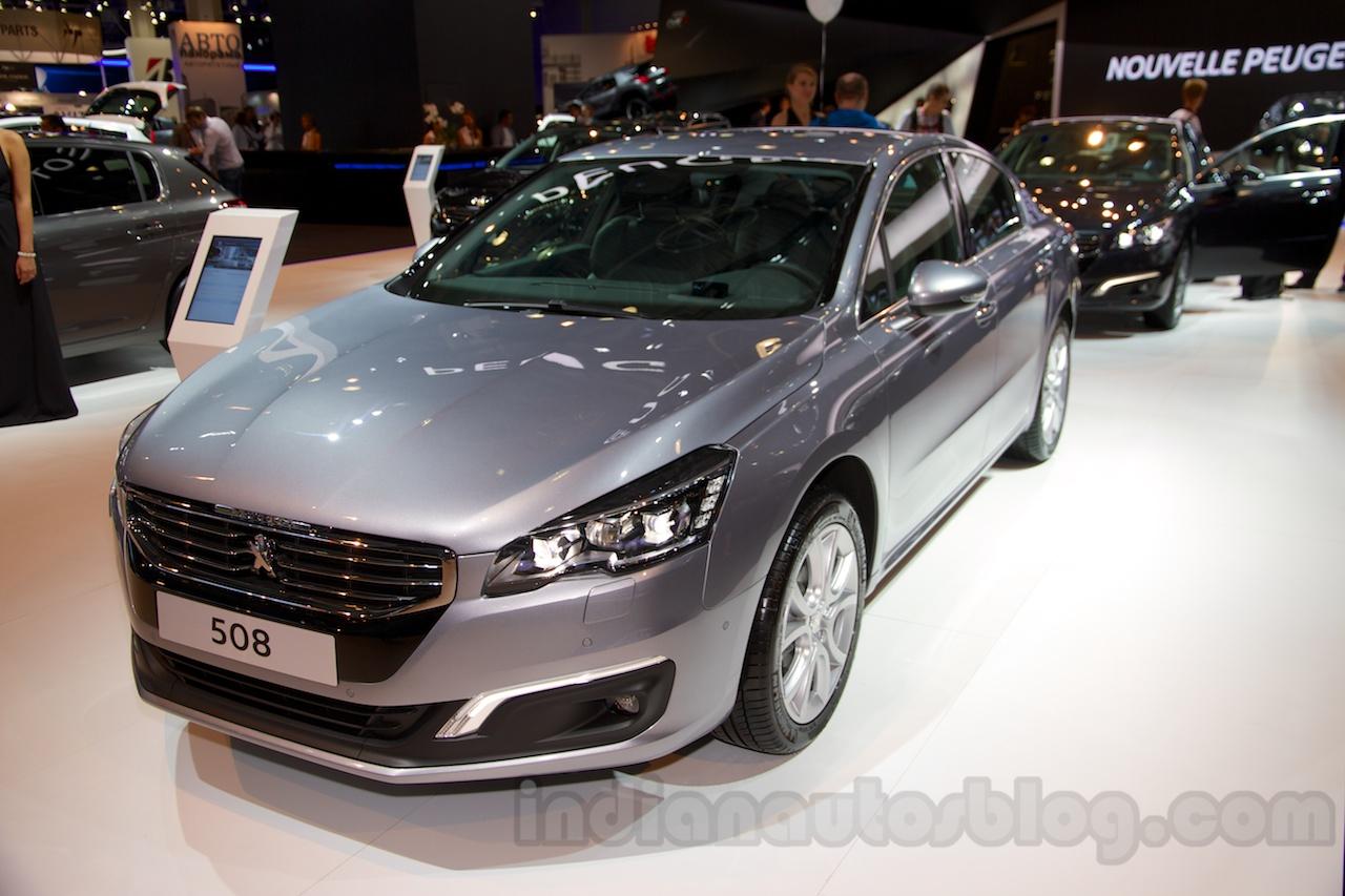 Peugeot 508 I Restyling 2014 - now Sedan #5