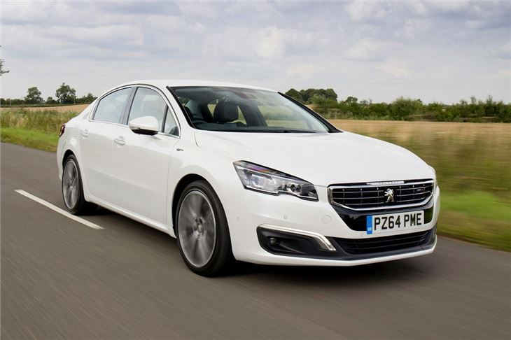 Peugeot 508 I Restyling 2014 - now Station wagon 5 door #1