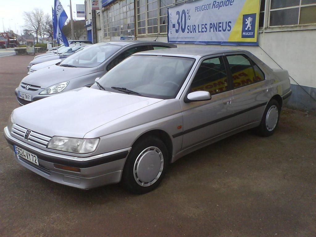 Peugeot 605 1989 - 1999 Sedan #1