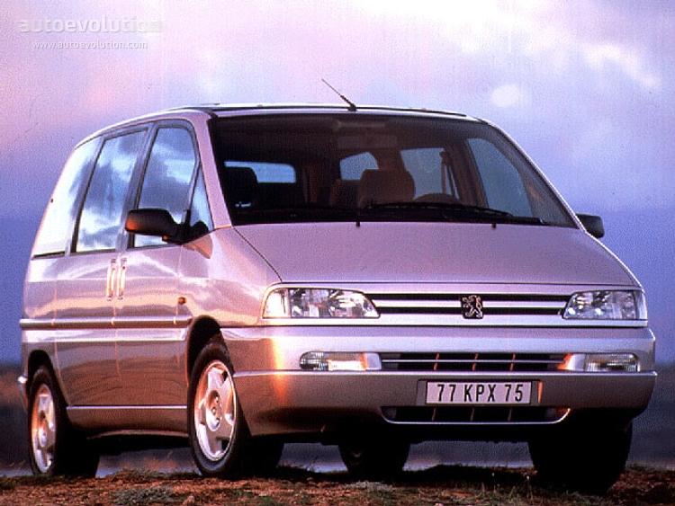 Peugeot 806 I 1994 - 1998 Compact MPV #4