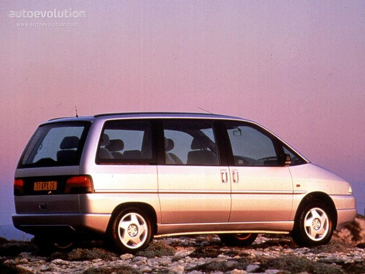 Peugeot 806 I 1994 - 1998 Compact MPV #1