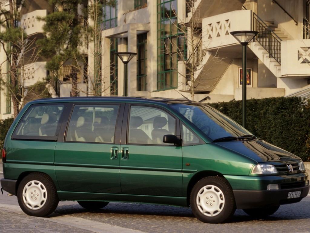 Peugeot 806 I 1994 - 1998 Compact MPV #5