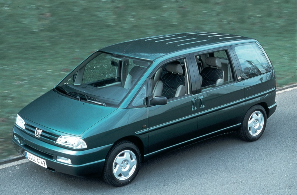 Peugeot 806 I 1994 - 1998 Compact MPV #6