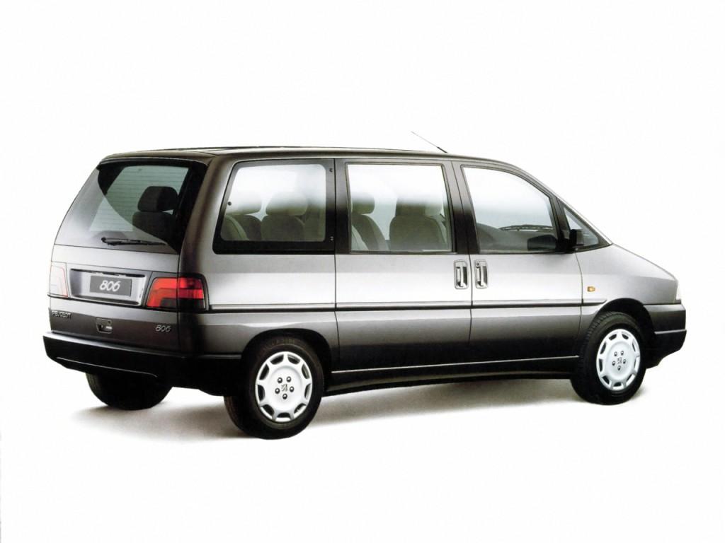 Peugeot 806 I 1994 - 1998 Compact MPV #7