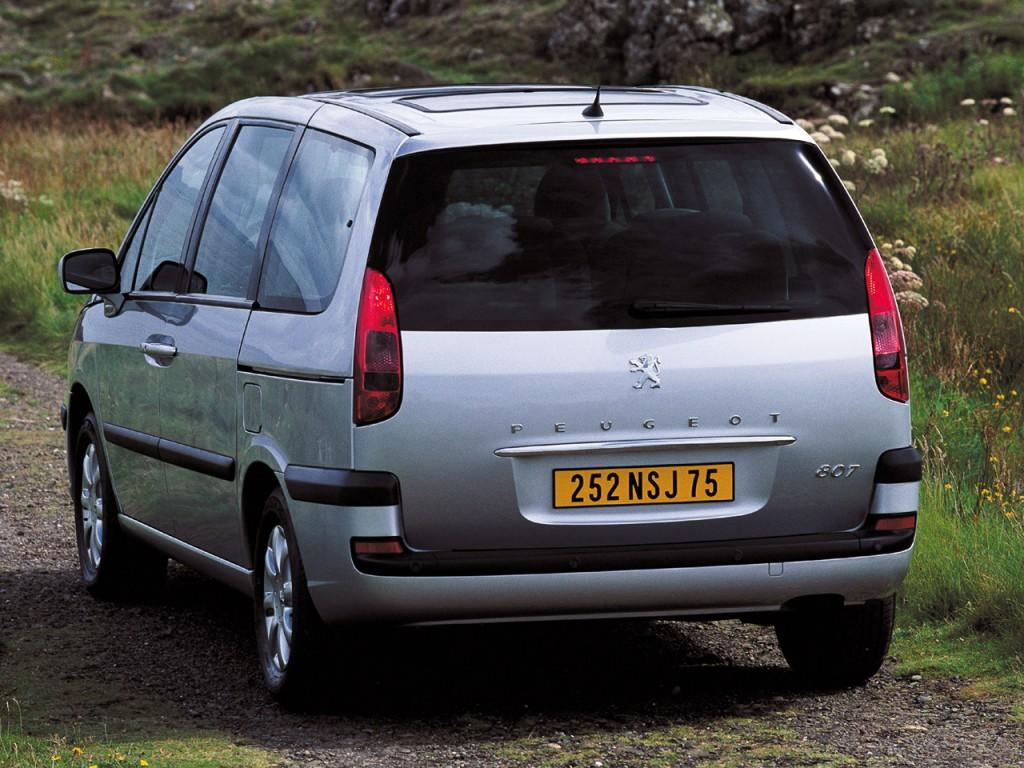 Peugeot 807 I 2002 - 2008 Compact MPV #3