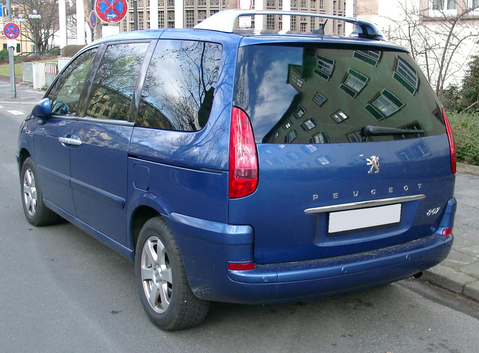 Peugeot 807 I Restyling 2008 - 2014 Minivan #6