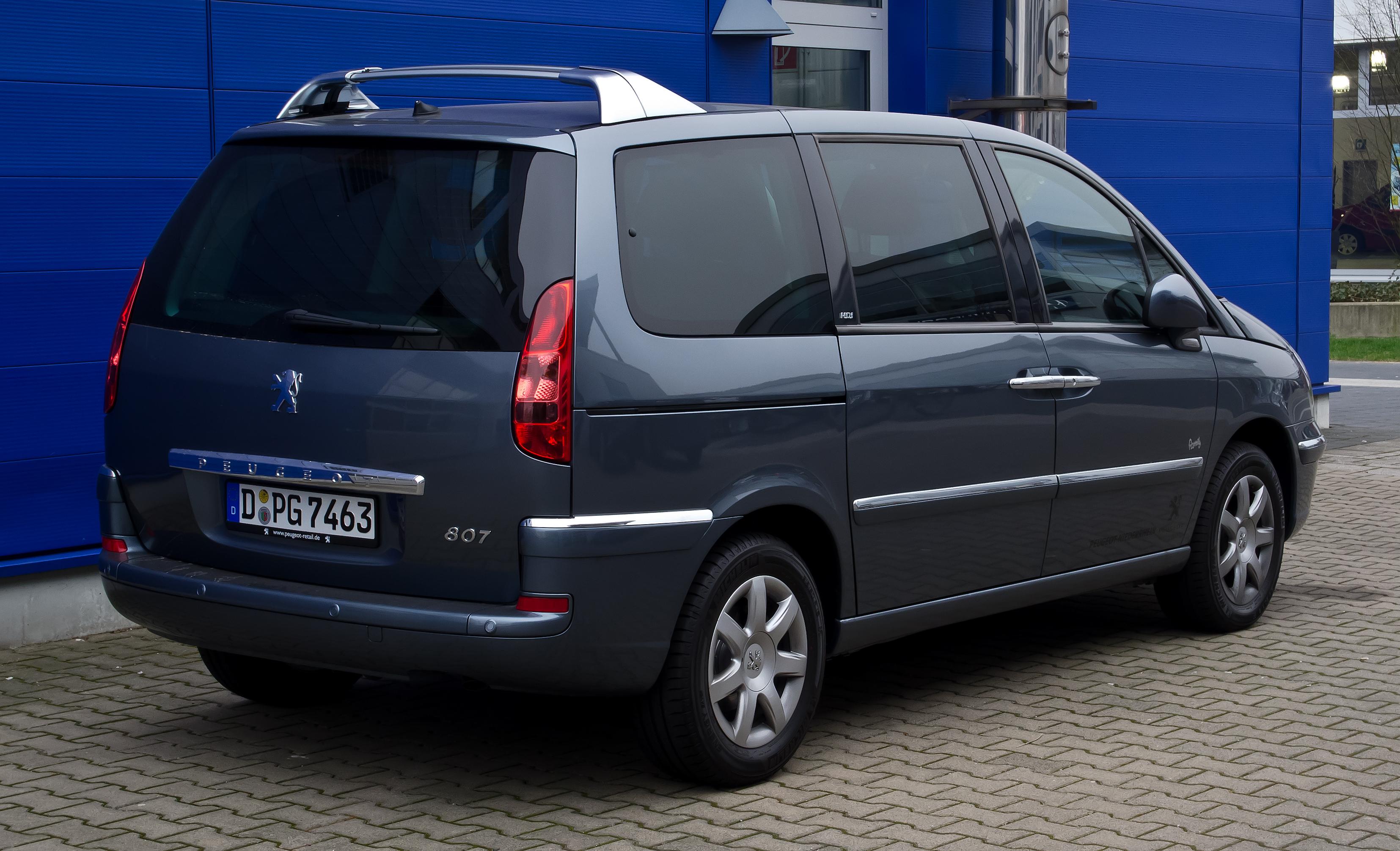 Peugeot 807 I Restyling 2008 - 2014 Minivan #5