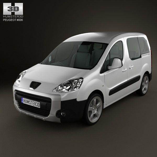 Peugeot Partner I Restyling 2002 - 2012 Compact MPV #1