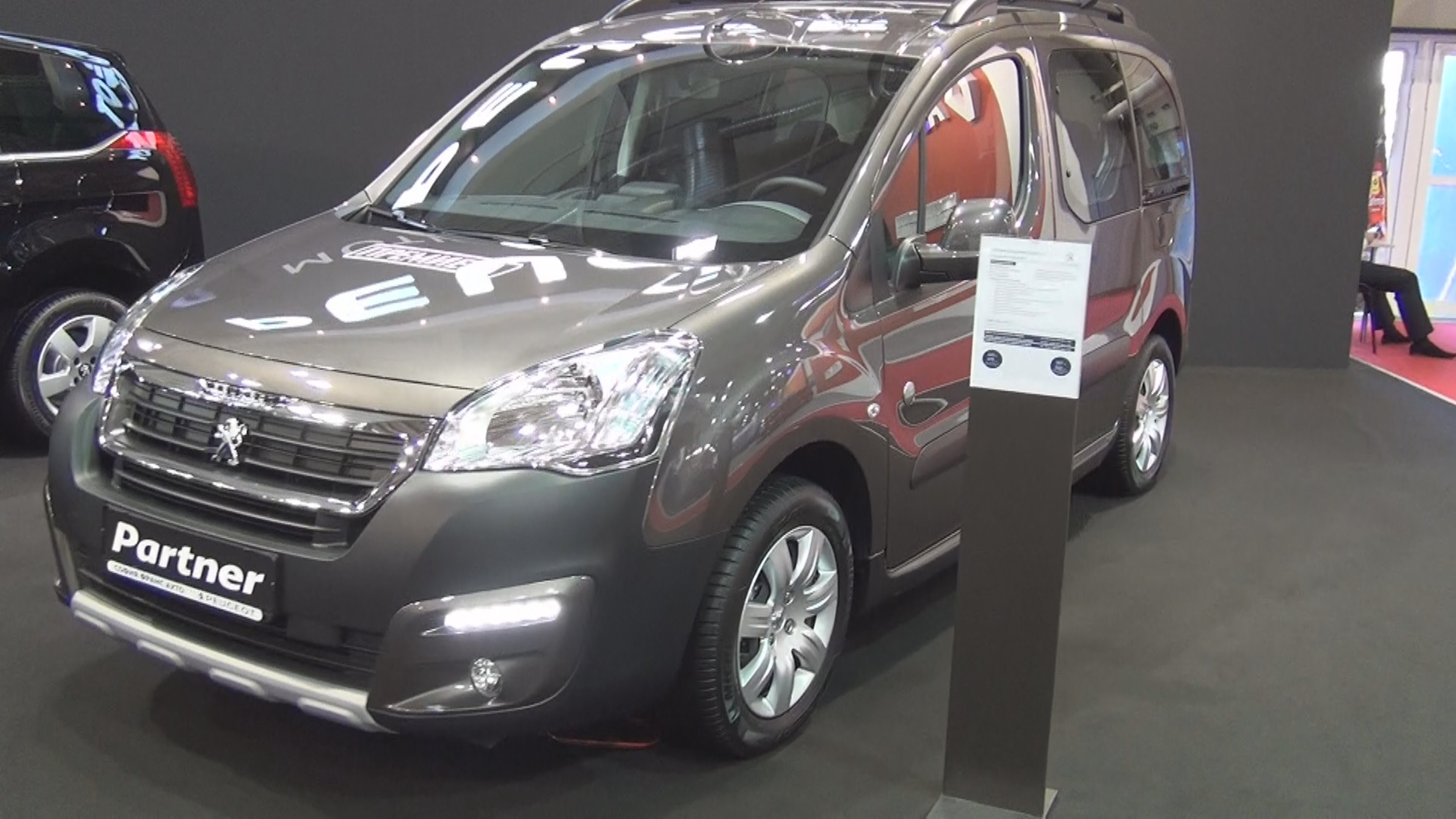 Peugeot Partner II Restyling 2 2015 - now Compact MPV #5