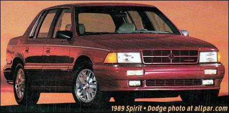 Plymouth Acclaim 1989 - 1995 Sedan #7