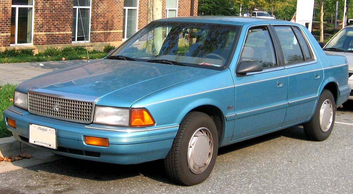 Plymouth Acclaim 1989 - 1995 Sedan #8
