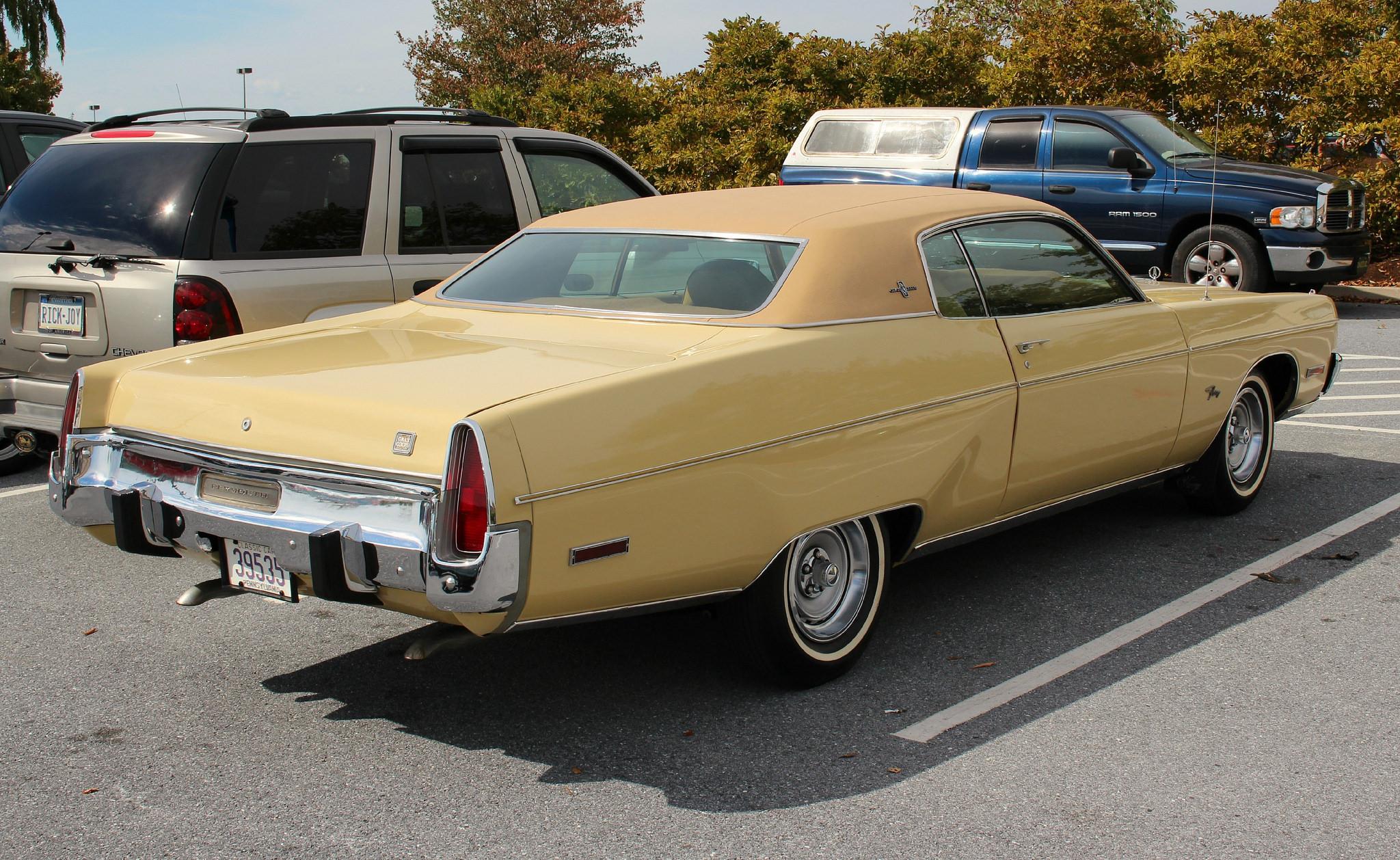 Plymouth Fury V 1969 - 1973 Coupe-Hardtop #1