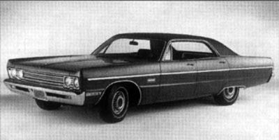 Plymouth Fury V 1969 - 1973 Coupe-Hardtop #8