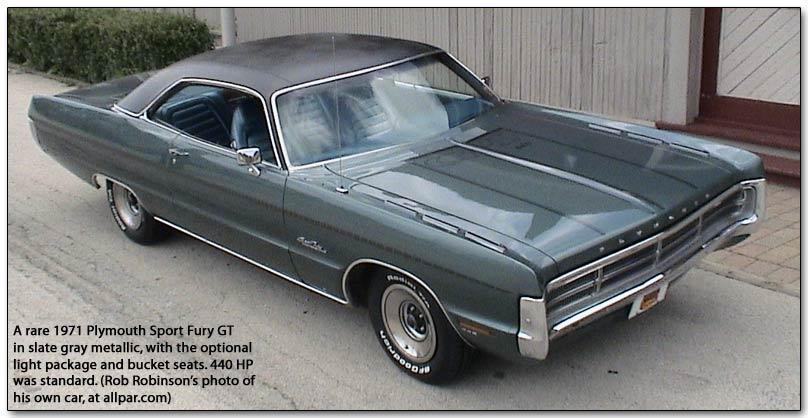 Plymouth Fury V 1969 - 1973 Coupe-Hardtop #6