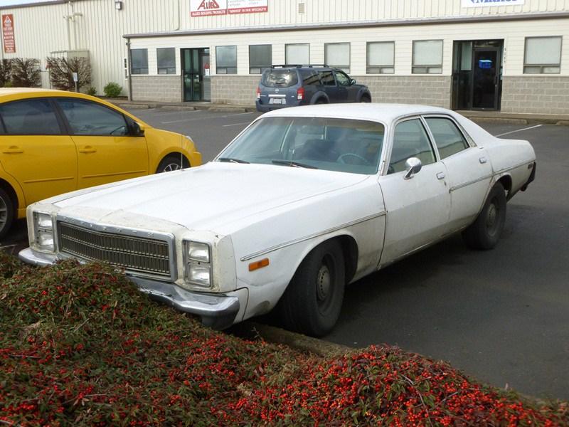 Plymouth Fury VII 1975 - 1978 Sedan #6