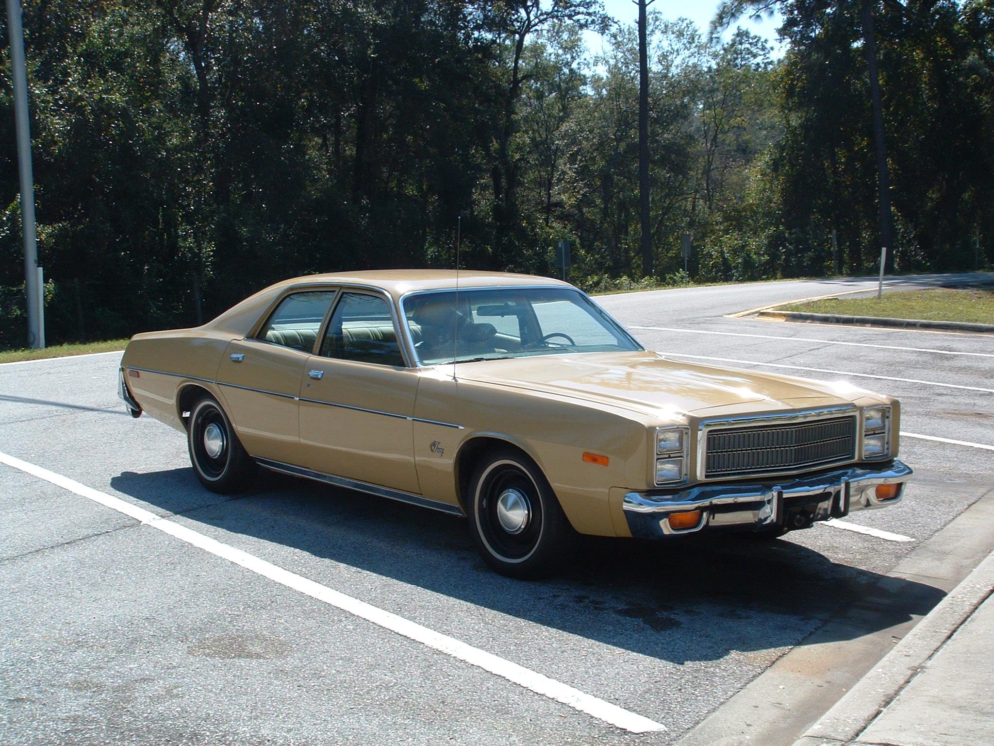 Plymouth Fury VII 1975 - 1978 Sedan #3