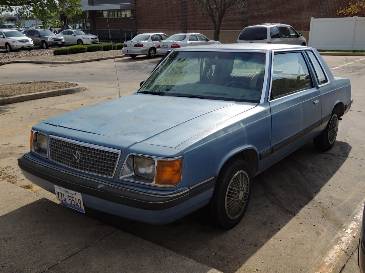 Plymouth Reliant I 1981 - 1989 Sedan #3