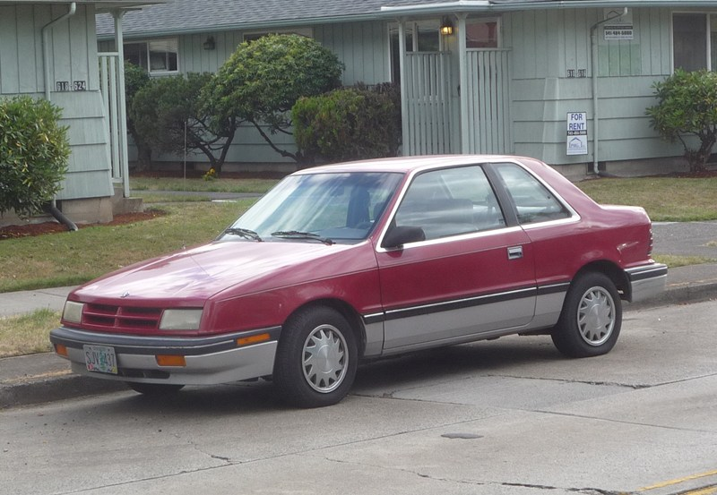 Plymouth Sundance 1986 - 1994 Coupe #3