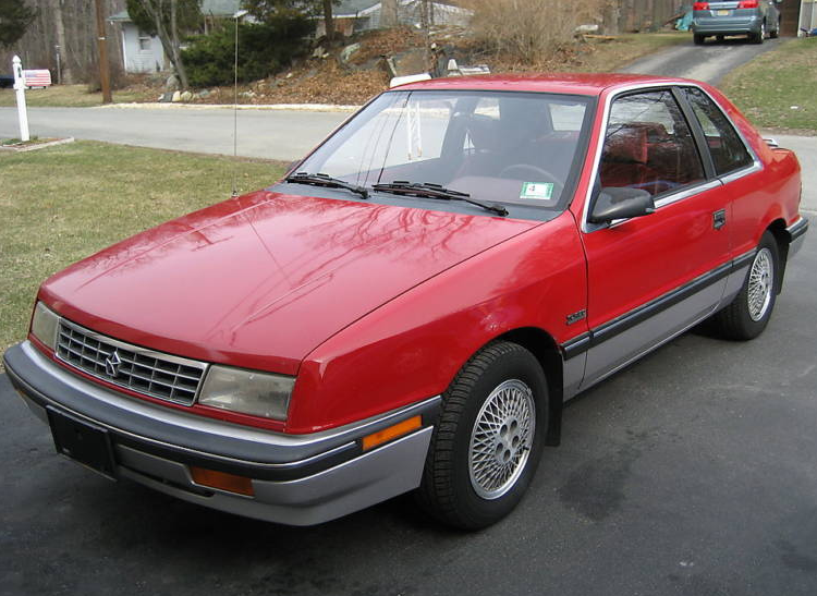 Plymouth Sundance 1986 - 1994 Coupe #2