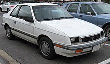 Plymouth Sundance 1986 - 1994 Coupe #5