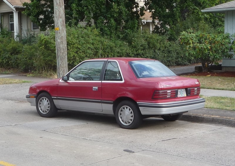 Plymouth Sundance 1986 - 1994 Coupe #7