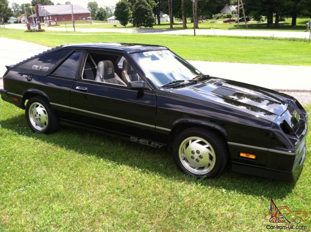 Plymouth Turismo 1983 - 1987 Hatchback 3 door #2