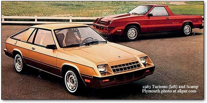 Plymouth Turismo 1983 - 1987 Hatchback 3 door #8