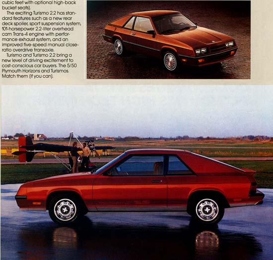 Plymouth Turismo 1983 - 1987 Hatchback 3 door #7