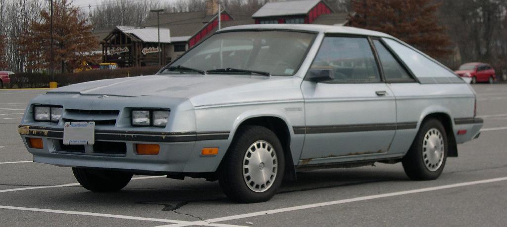 Plymouth Turismo 1983 - 1987 Hatchback 3 door #6